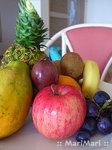 フルーツバスケットのサービスがありました。キゥイ・パパイヤ・マンゴー・パッションフルーツ・パインに・・・全部食べましたよー。